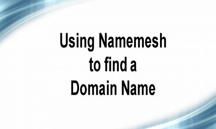 How to Use NameMesh to Get an Awesome Domain Name